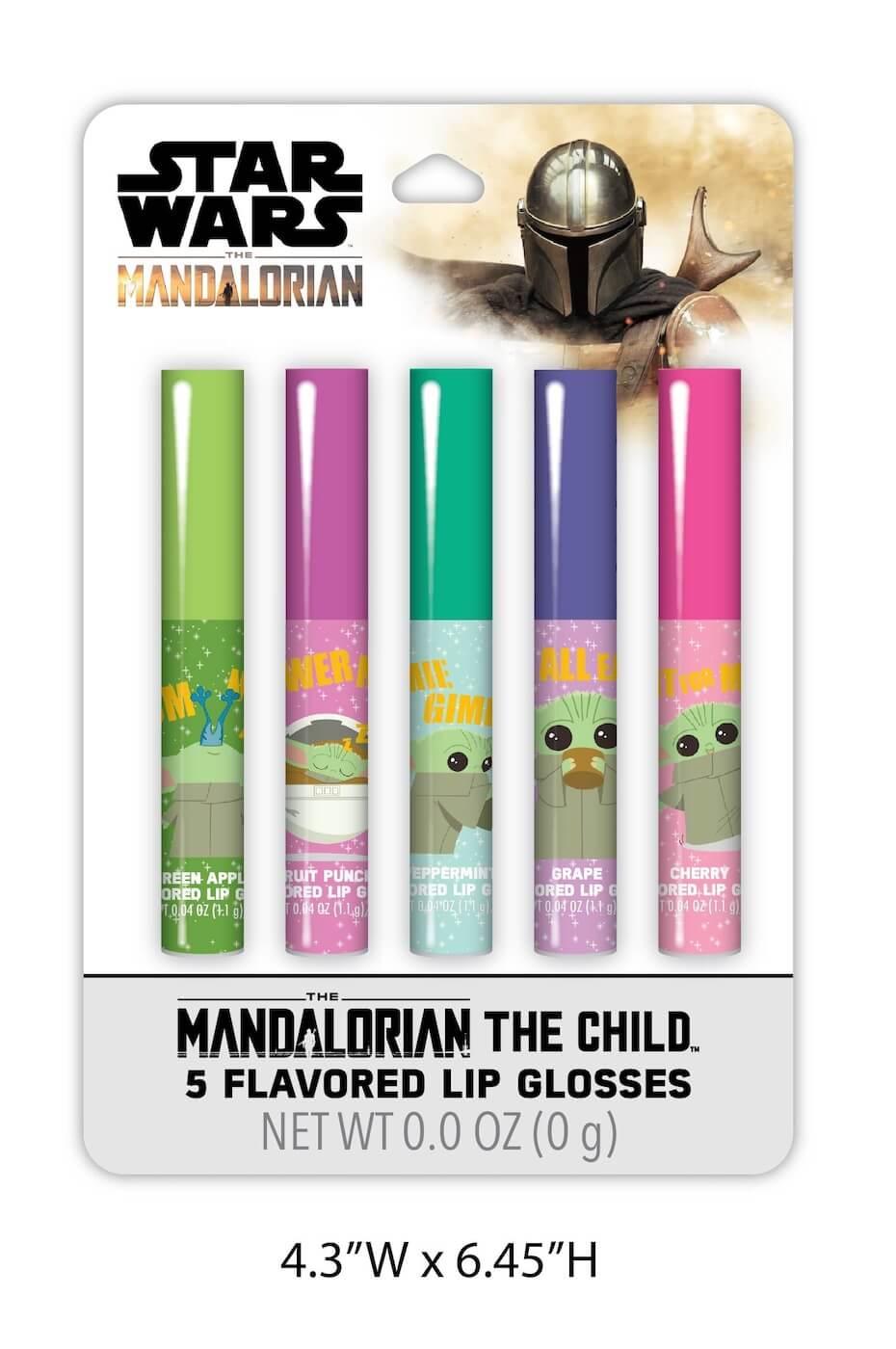 Mandalorian The Child 5 Flavored Lip Glosses