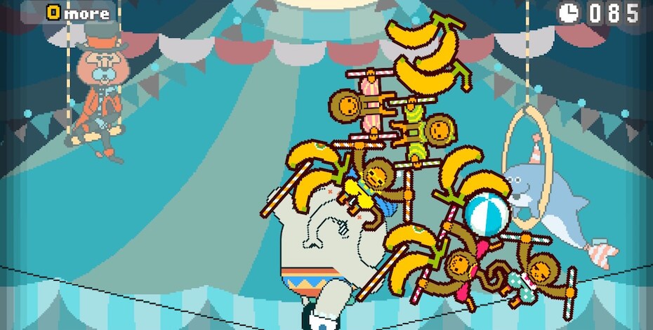 Part Time UFO: Monkey Banana stacking