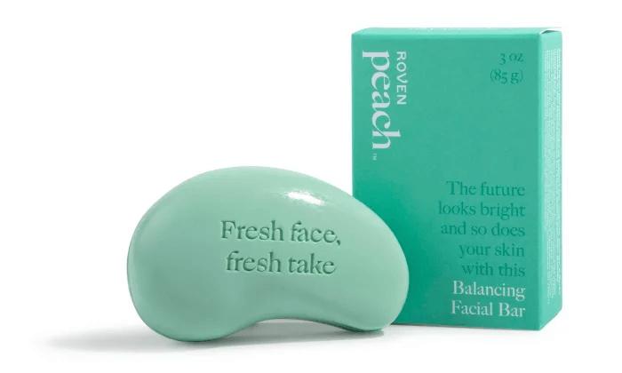Peach: Balancing facial bar