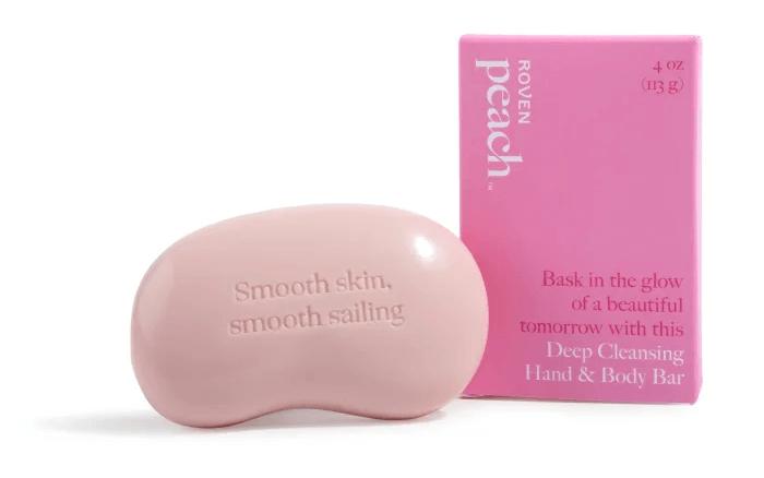Peach: Deep cleansing hand and body bar