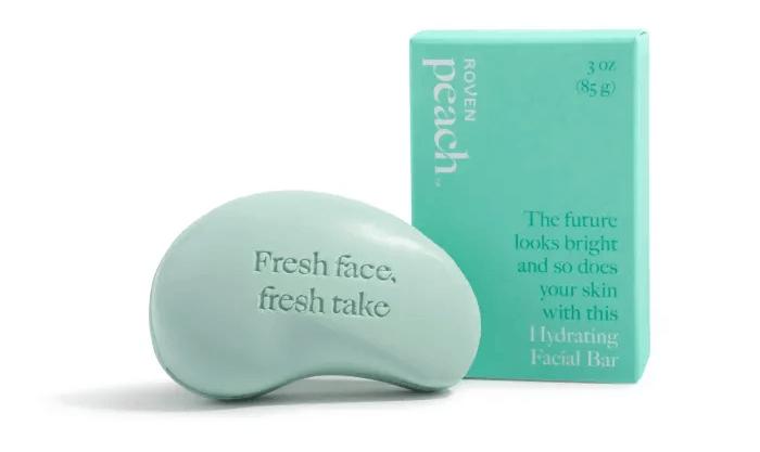 Peach: Moisturizing facial bar