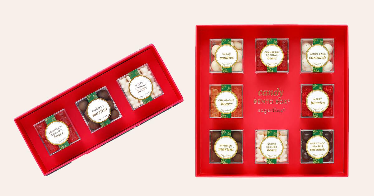 Sugargina Holiday Bento Boxes
