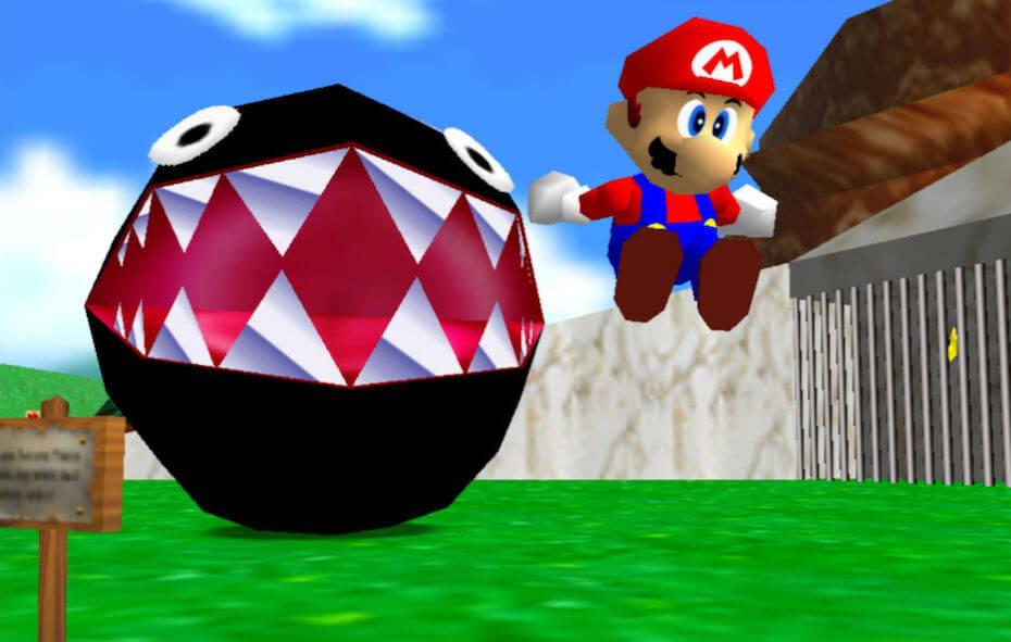 Super Mario 3D All-Stars: Super Mario 64 Chain Chomp