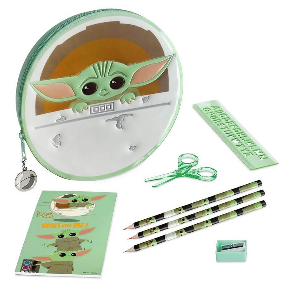 The Child Zip-up stationery kit