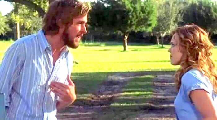 The Notebook: Noah and Allie arguing