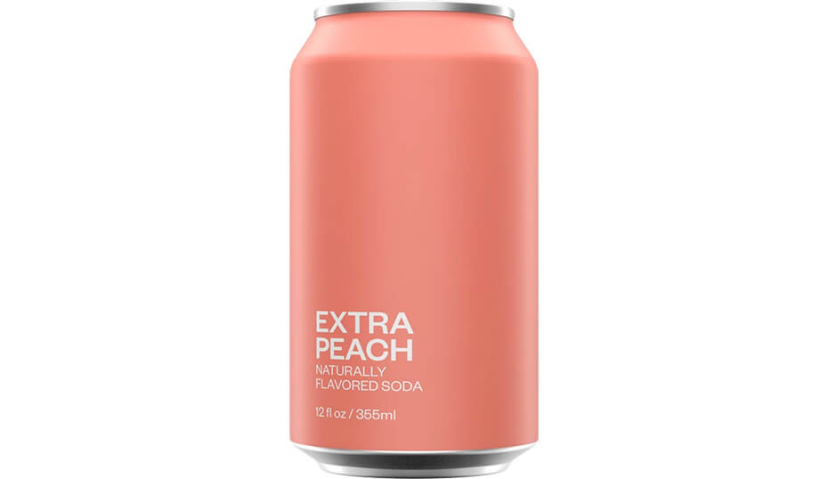 United Sodas of America Extra Peach