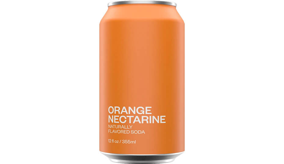 United Sodas of America Orange Nectarine