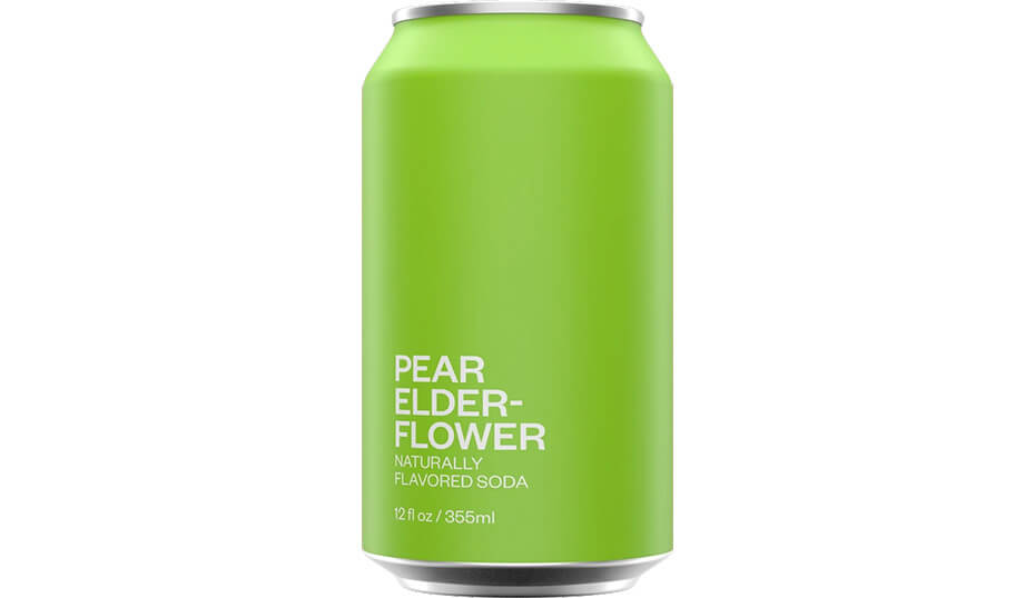 United Sodas of America Pear Elderflower