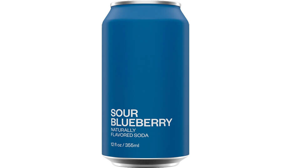 United Sodas of America Sour Blueberry