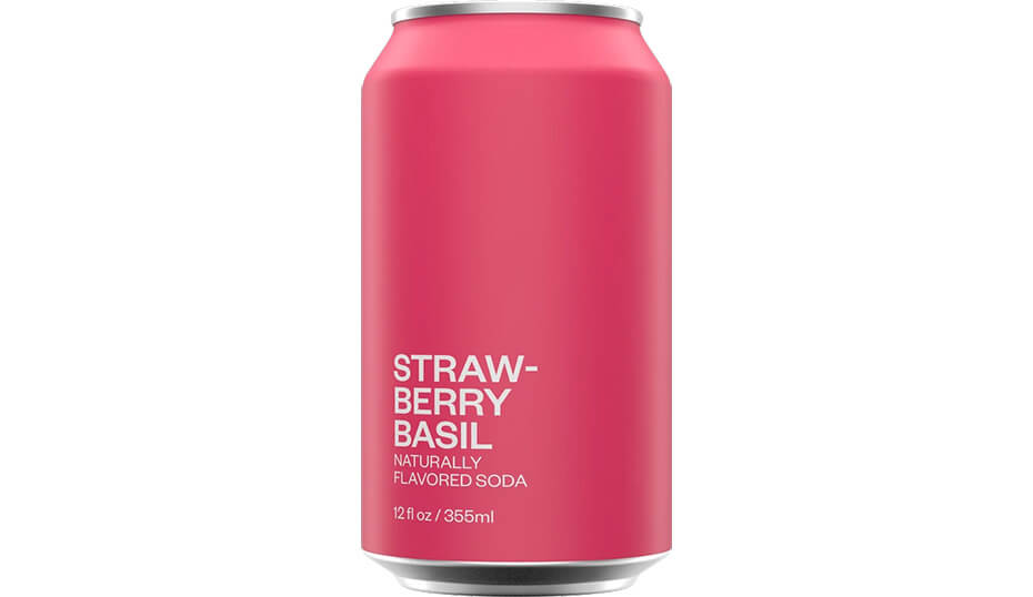 United Sodas of America Strawberry Basil