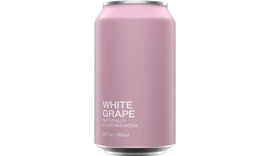 United Sodas of America White Grape