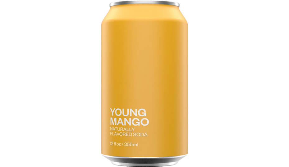 United Sodas of America Young Mango