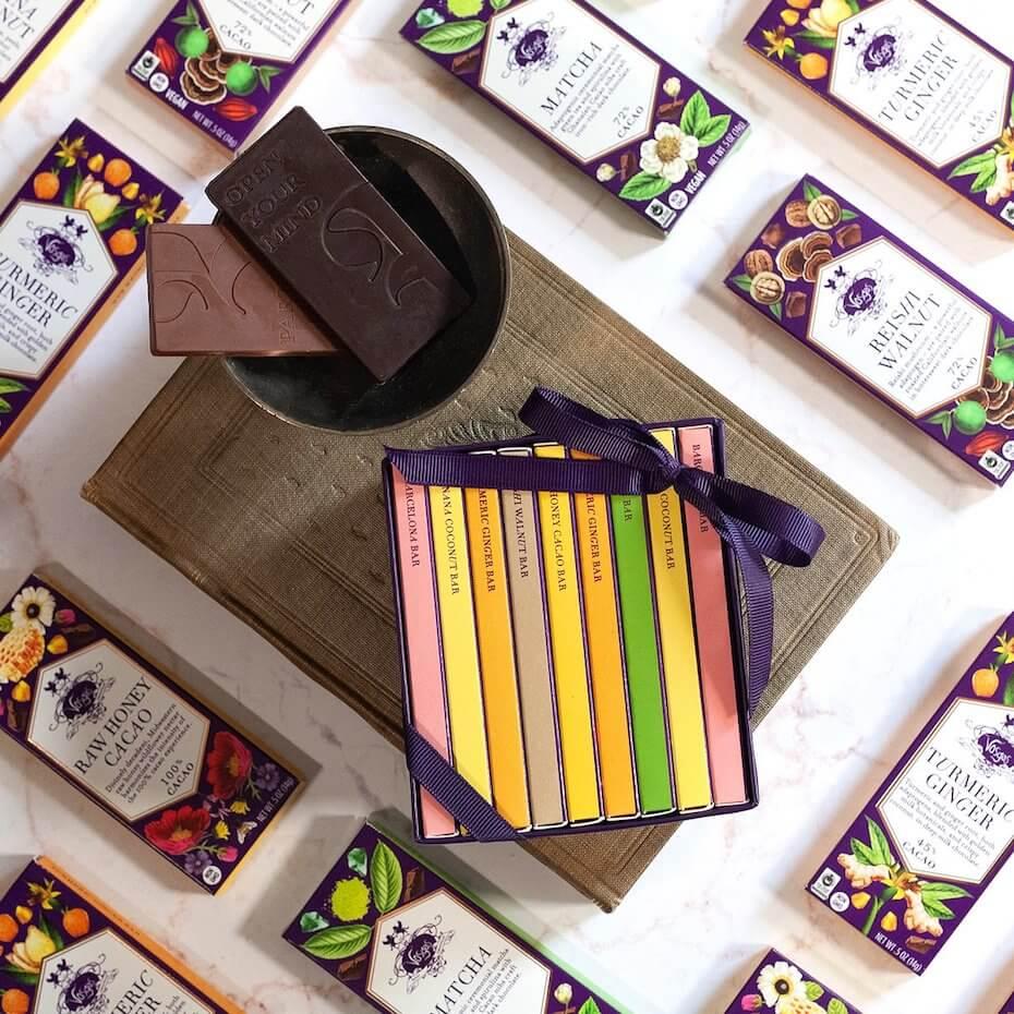 Vosges Mini Exotic Chocolate bars