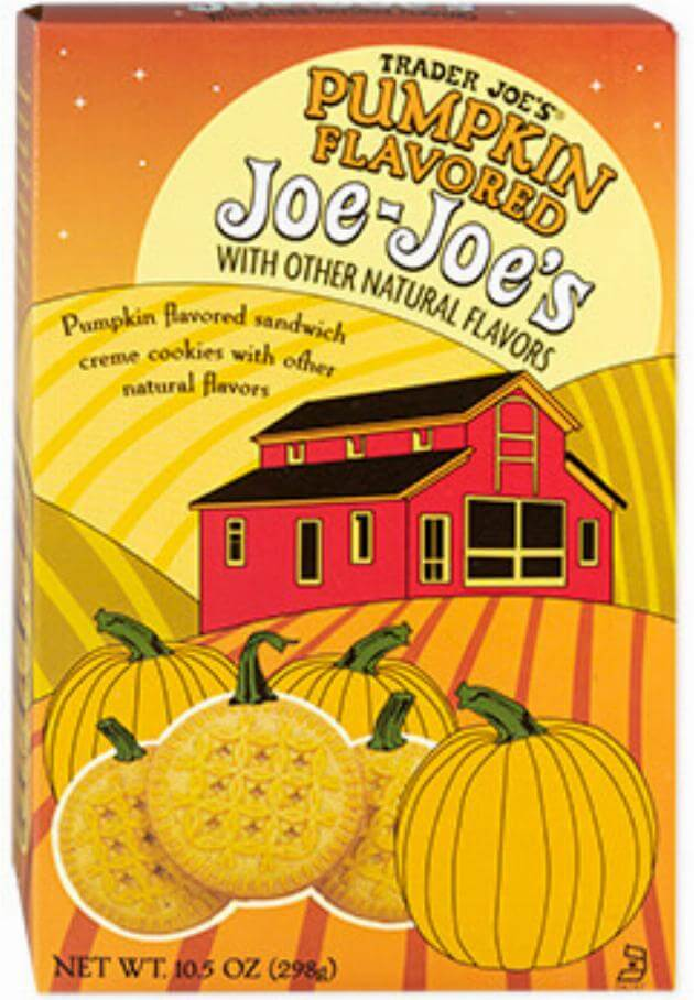 pumpkin flavored joe joe's