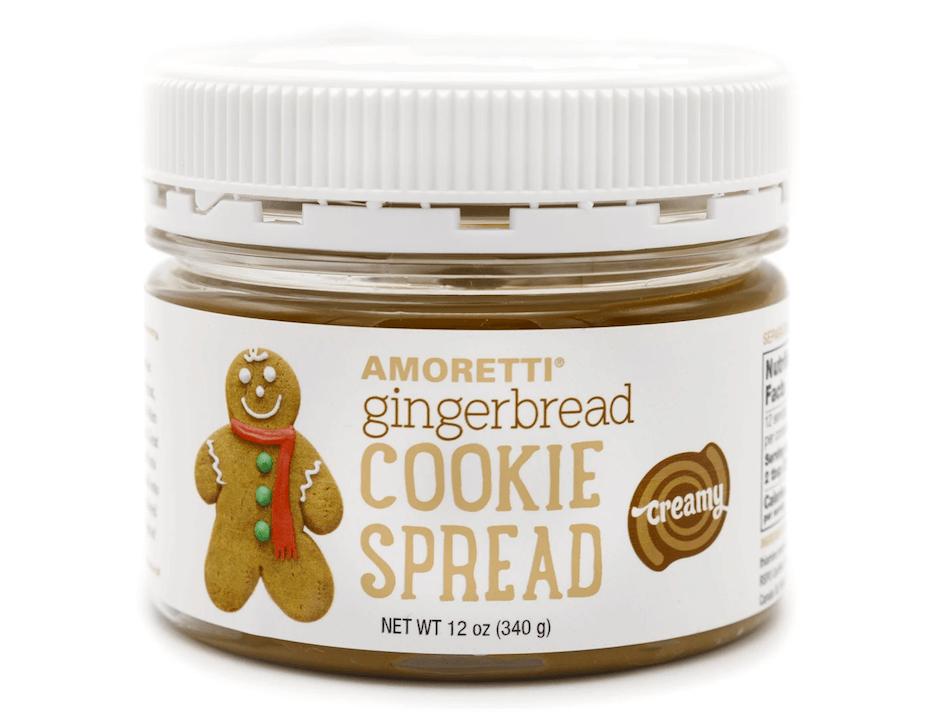 Amoretti Gingerbread cookie spread