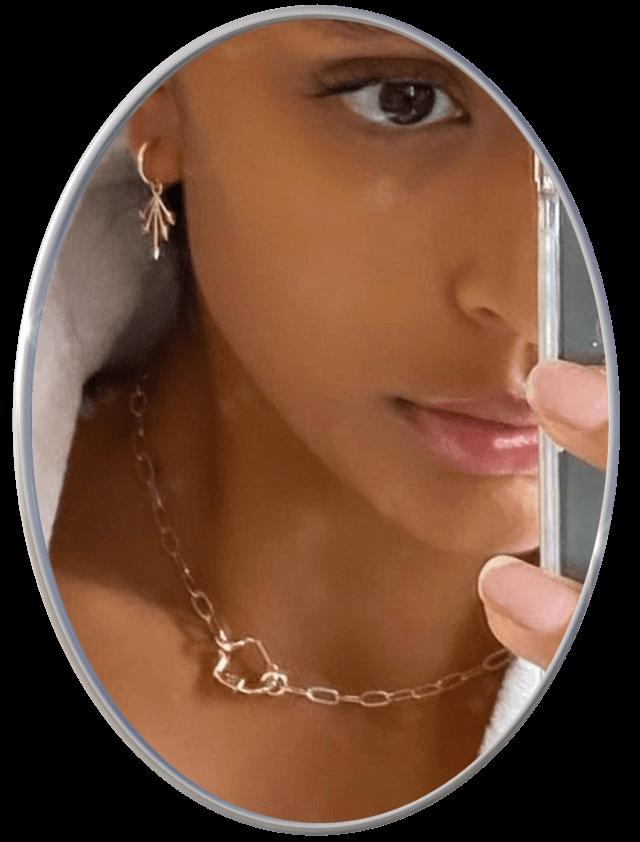 Andalways Starlet Mirror Choker