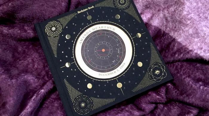 Birthdate book cover