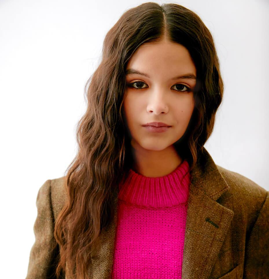 Elizabeth Pettey: YaYa Gosselin jacket and sweater