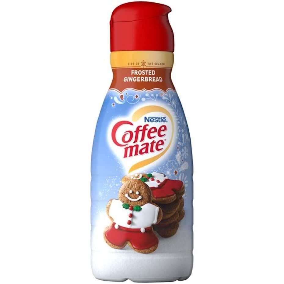 Walmart gingerbread coffee mate creamer