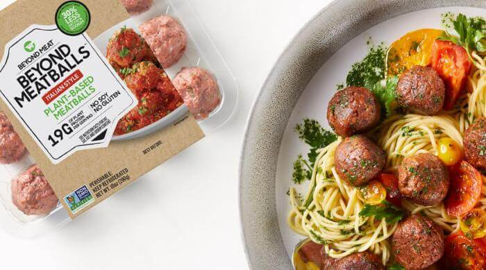 Beyond meat: meatballs and spaghetti