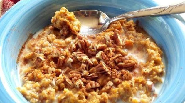Connoisseurus Veg: sweet potato pecan oatmeal