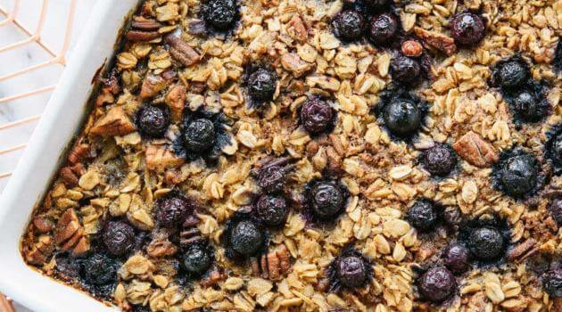 Cookie Kate: baked blueberry oatmeal