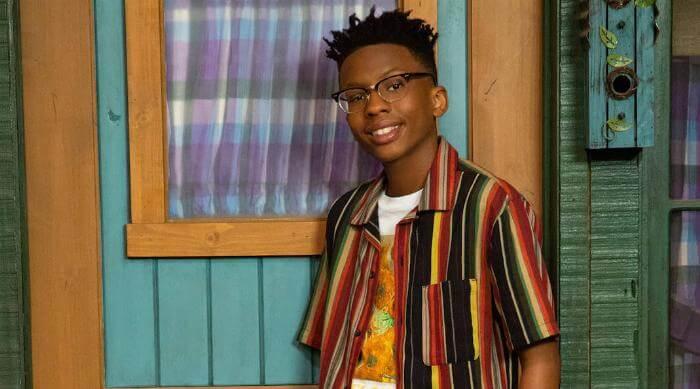 """BUNK'D - Disney Channel's """"BUNK'D"""" stars Israel Johnson as Noah. (Disney Channel/Kelsey McNeal)"""