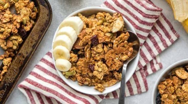 From My Bowl: easy vegan granola recipe