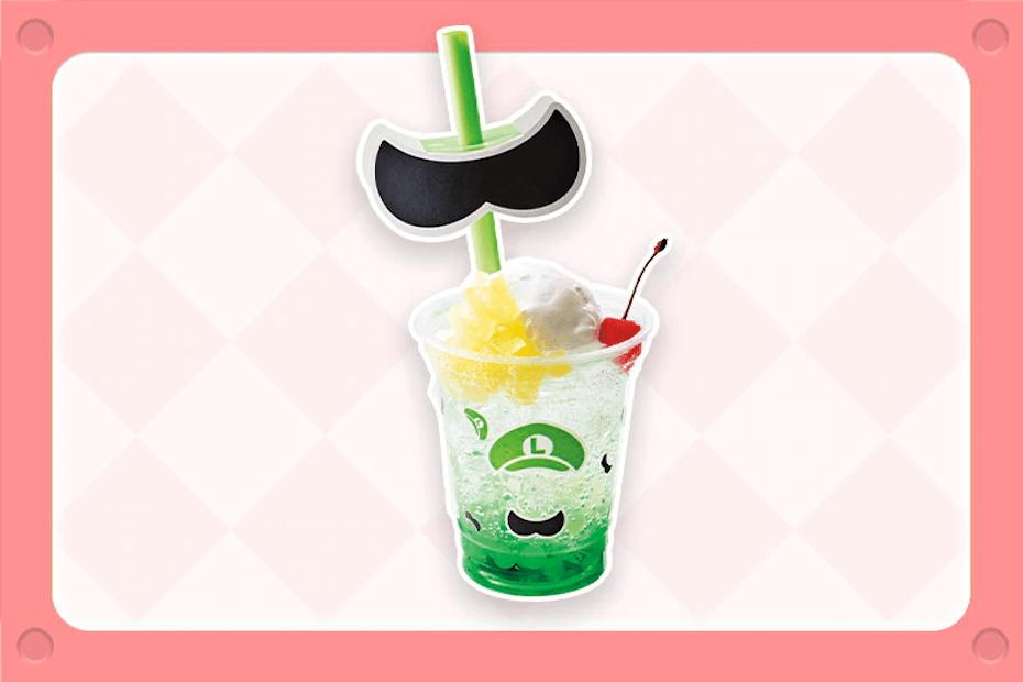 Luigi Green Apple Cream Soda