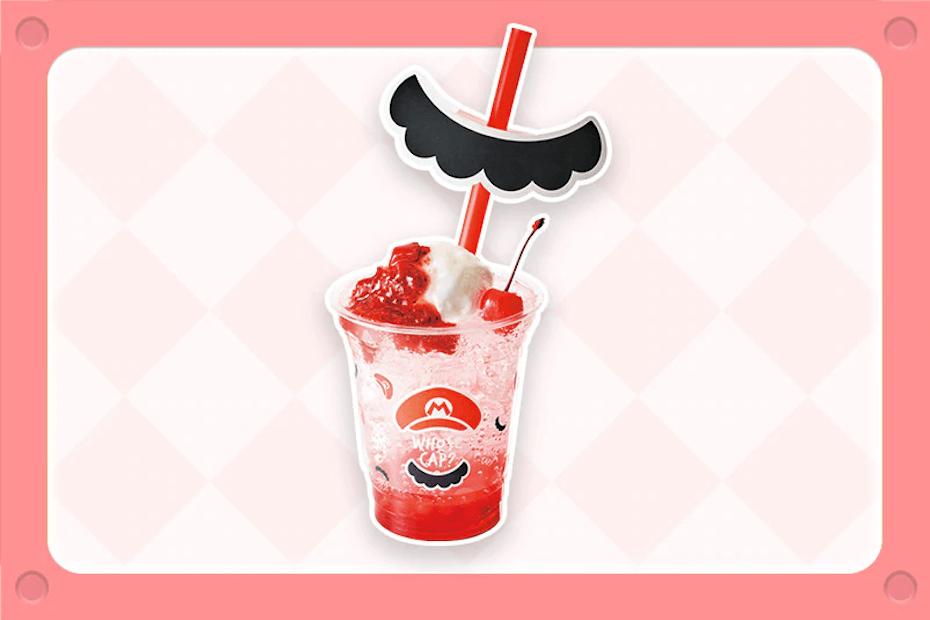 Mario Strawberry Cream Soda
