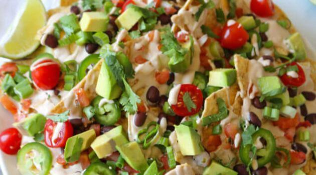 Plant Perks: vegan nachos