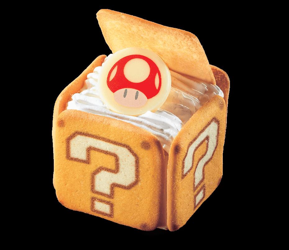 Super Nintendo World Question Mark Block Tiramisu