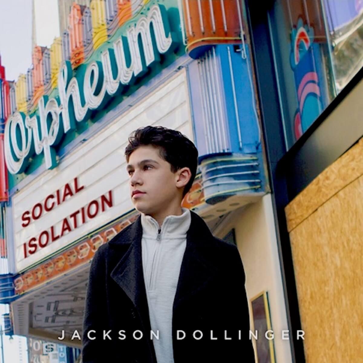 Russ Scott: Jackson Dollinger Social Isolation EP cover