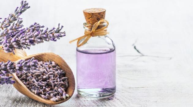 Shutterstock: lavender oil