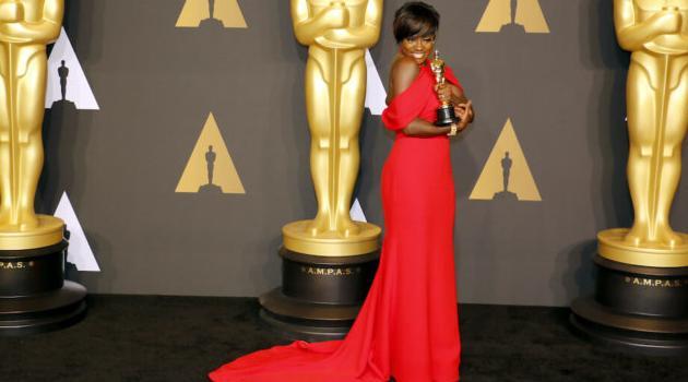 Shutterstock: Viola Davis Oscars