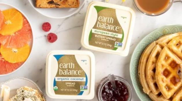 Earth Balance: European Style and Organic Coconut plant-based butter