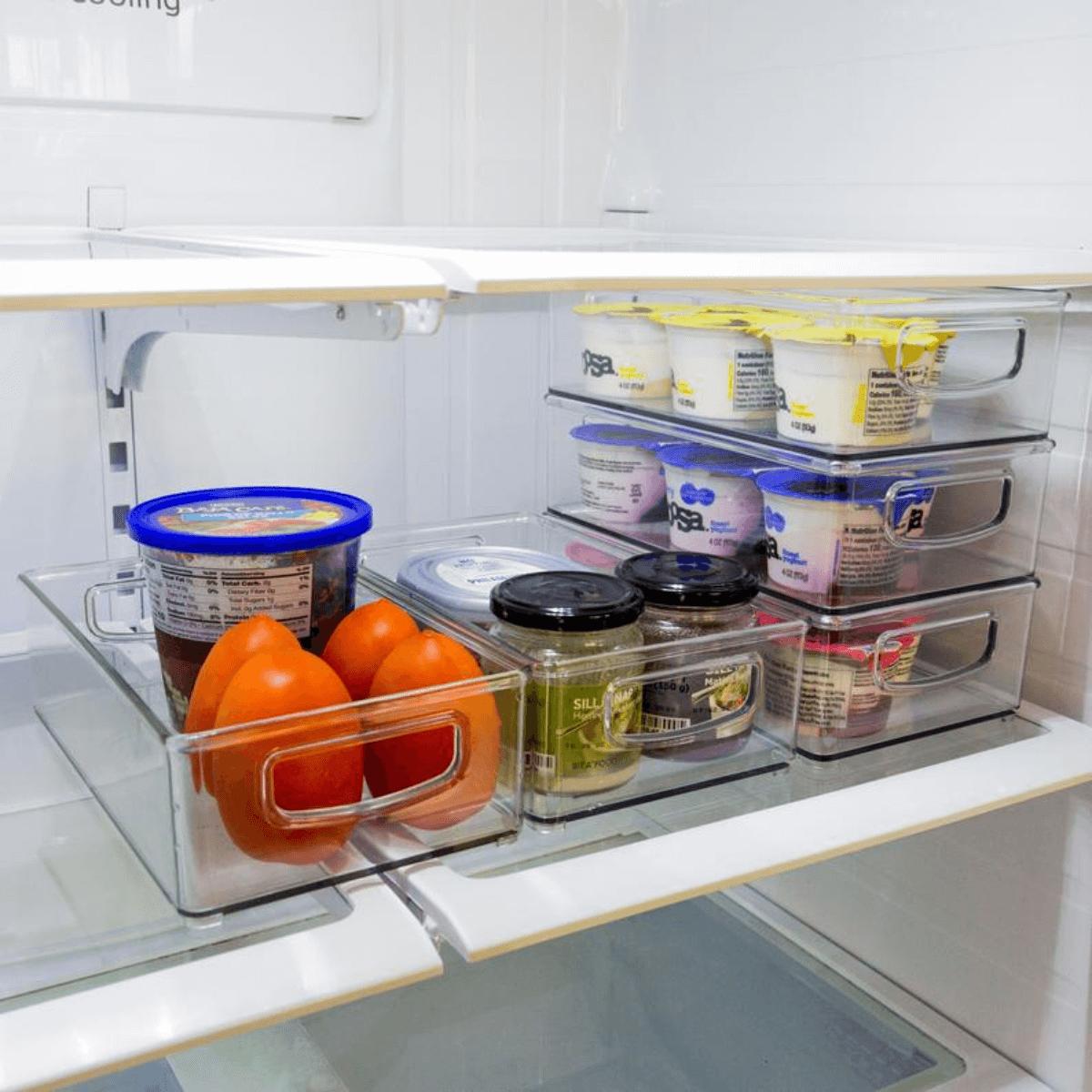 kitchen fridge organizers