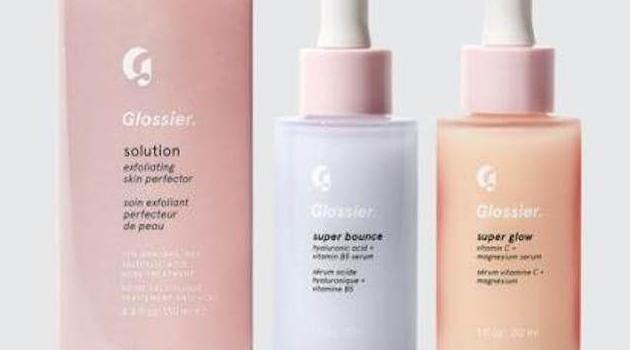 Glossier: solution, super balance and super glo