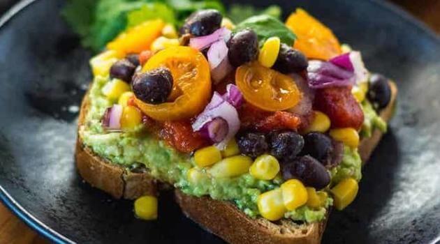 Healthier Steps: Southwestern Avocado Toast