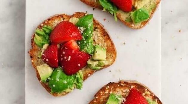 Love and Lemons: Strawberry Basil Avocado Toast