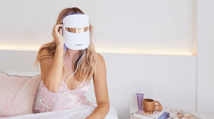 peppy co led light therapy mask