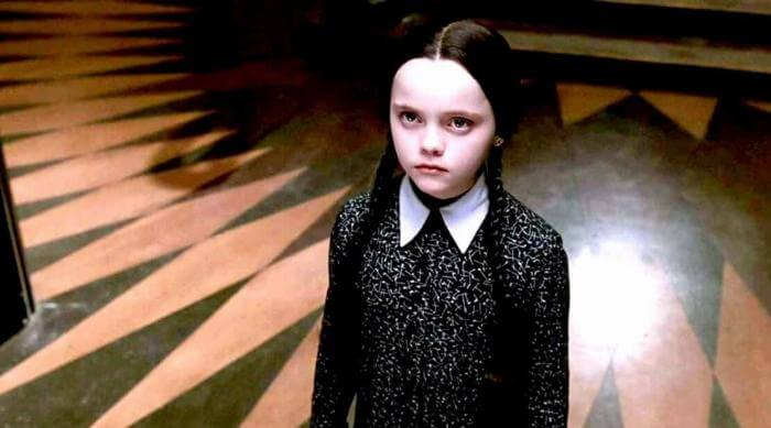 The Addams Family: Christina Ricci as Wednesday Addams