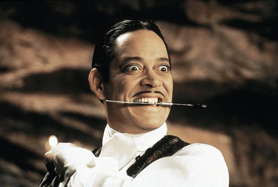 The Addams Family: Raul Julia as Gomez Addams
