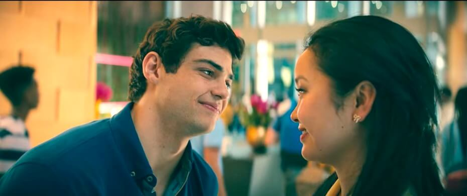 To All the Boys: Always and Forever peter and lara jean at orientation