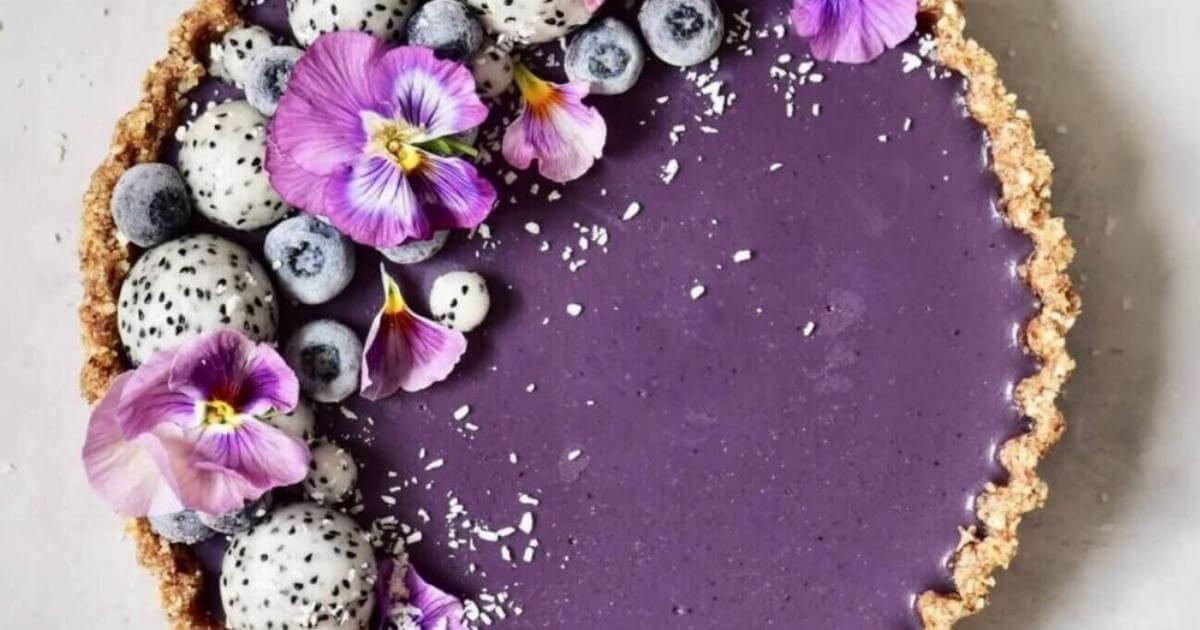 Alpha Foodie: earl grey blueberry tart