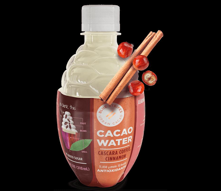 Cacao Water: Cascara coffee and cinnamon