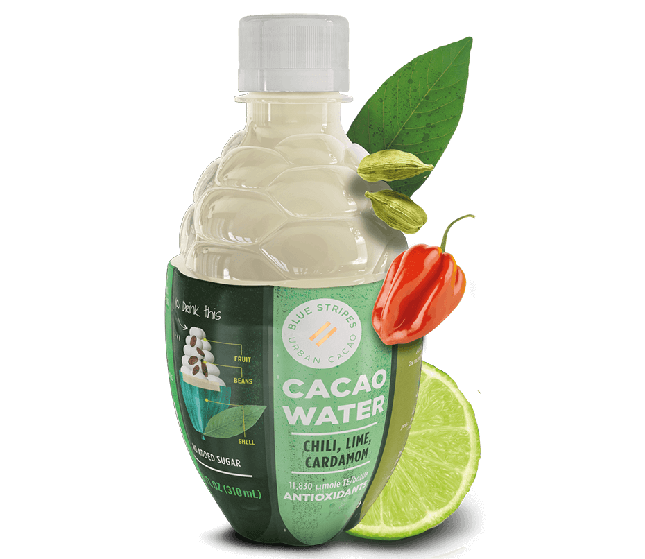 Cacao Water: Chili, lime and cardamom