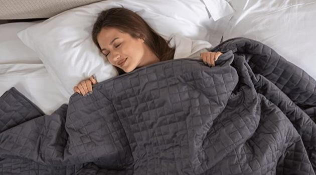 Coolzen: cooling weighted blanket