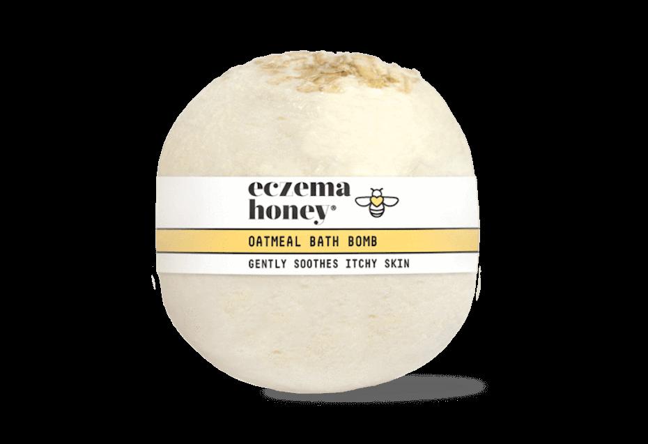 eczema-honey-oatmeal-bath-bomb-031821