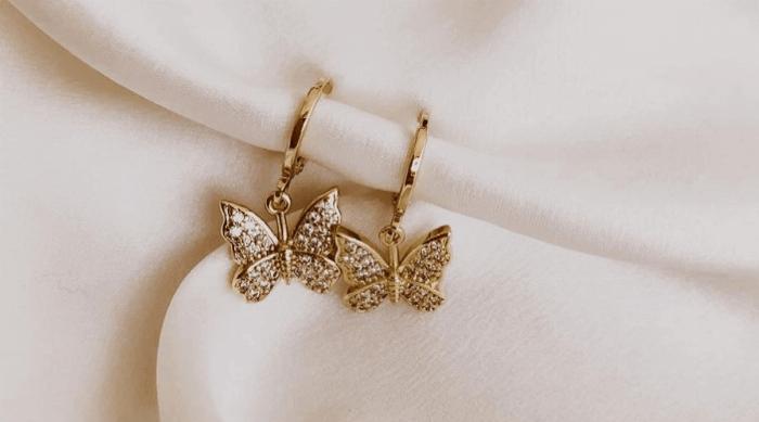 heymaeve butterfly earrings